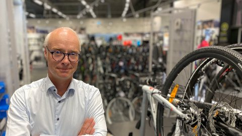 GIKK TOM: Et fantatisk sykkelsalg ble nevnt spesielt da konsernsjef Pål Wibe i XXL la fram gode kvartalstall tirsdag morgen. Men mot slutten av sommersesongen hadde kjeden for lite å tilby kundene, som betydde tapt omsetning.