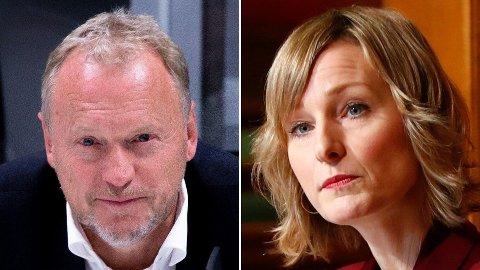 Byrådsleder Raymond Johansen (Ap) og skolebyråd Inga Marte Thorkildsen (SV).