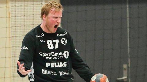 COMEBACK: Morten Nergaard har gjort sitt andre comeback i Halden Topphåndball. Foto: Geir Olsen / NTB