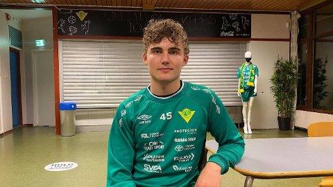 TALENT: Benjamin Berg er et av de største talentene i Rema 1000-ligaen.