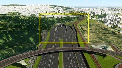 TUNNELSTRID: Byrådet i Oslo, med Miljøpartiet De Grønne i spissen, vil droppe planene for E6 Oslo øst, og sier dermed nei til å føre tungtrafikk i tunnel gjennom flere tettbebygde områder på østkanten. Nå kjemper de borgerlige partiet på Stortinget for veiplanene.