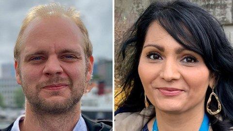 KUTTER: Fagforeningsleder Susanne Mall mener Mímir Kristjánsson (R) og det politiske flertallet har ideologiske skylapper når de vil sette i gang en omorganisering i kommunen.