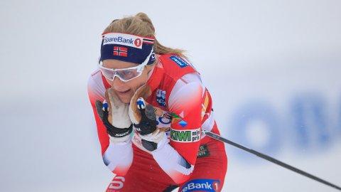 UTSETTET: Therese Johaug får ikke konkurrert som planlagt på Lillehammer i desember.