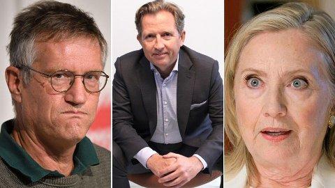 En svensk statsepidemiolog - Anders Tegnell, en norsk USA-skribent - Simen A. Johannessen og en tidligere amerikansk førstedame - Hillary Clinton - dannet grunnlaget for denne ukens meningsstoff i Nettavisen.