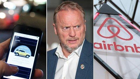 - Raymond Johansens bekymring for utleie gjennom Airbnb blekner i forhold til hvor engstelig han er for de nye endringene i drosjenæringen som på nytt åpner for Uber og andre lignende aktører, skriver HøyresAnne Haabeth Rygg i denne kommentaren.