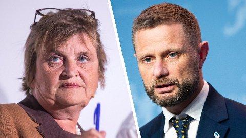 Elin Ørjasæter anklager Bent Høie og regjeringen for å ha vikarierende motiver for noen av koronatiltakene og kaller dem ren «show off».