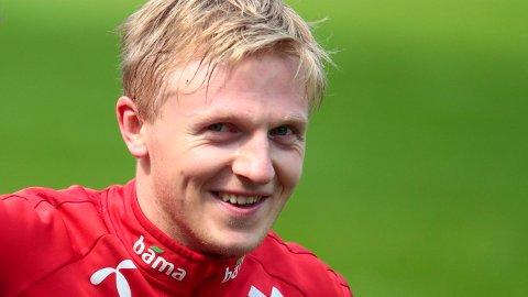 TILBAKE PÅ LANDSLAGET: Mats Møller Dæhli blir kaptein i møtet med Østerrike.