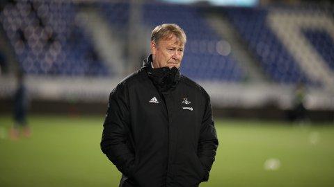 Rosenborgs trener Åge Hareide sendte laget sitt ut i treningskamper den siste uken.