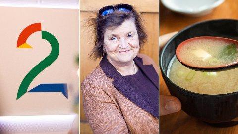 TV 2, kommentar-terrieren Elin Ørjasæter og en tynn suppe danner grunnlaget for tre av de fem mest leste meningssakene i Nettavisen denne uken.
