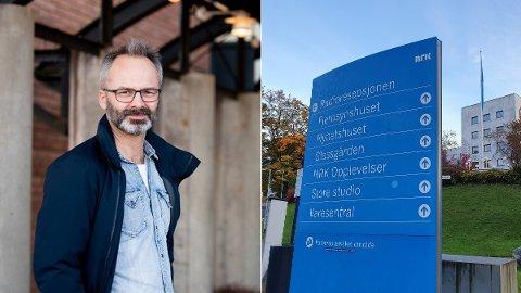 FLYTTING: NRK skal flytte fra hovedkvarteret på Marienlyst, hvor det jobber 2000 ansatte. Lillestrøm-ordfører Jørgen Vik (Ap) vil gjerne ha dem i sin by.
