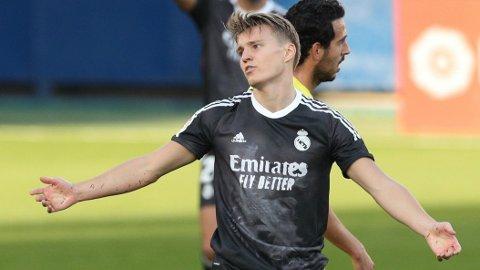 SPILTE FRA START: Martin Ødegaard startet storkampen mot Villarreal lørdag ettermiddag.