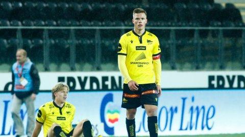 Eirik Wichne har snart gjort sitt i den gule Start-drakta.