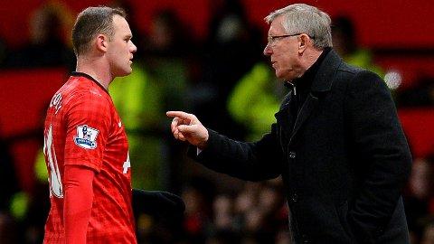ØNSKET SEG BORT: Wayne Rooney ønsket seg i en liten periode bort fra Manchester United.