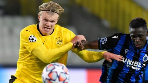 Erling Braut Haaland har scoret 14 mål i Champions League så langt.