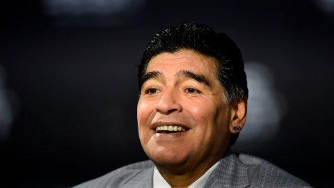 Diego Maradona avbildet tilbake i 2016. Han var delaktig i en filmprosjekt sammen med norske Terje Liverød den siste tiden.