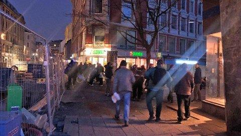 RUSMILJØ: Mange av Oslos rusavhengige har samlet seg i Brugata under koronakrisen på grunn av stengte tilbud.