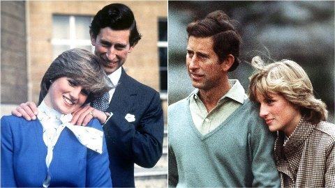 HØYDEFORSKJELL: Var prins Charles mye høyere enn Diana eller ikke?