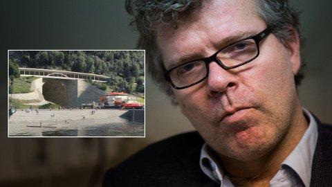 GALSKAP: Forfatter og kommentator Jon Hustad slakter Frps gjennomslag i budsjettet.
