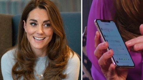 Kate Middleton skulle bare holde en spørsmålsrunde på Instagram, men ved en glipp klarte hun også å dele hva som var hennes favorittemojis - og det stjal mye av oppmerksomheten. Foto: Getty Images/KensingtonRoyal på Instagram