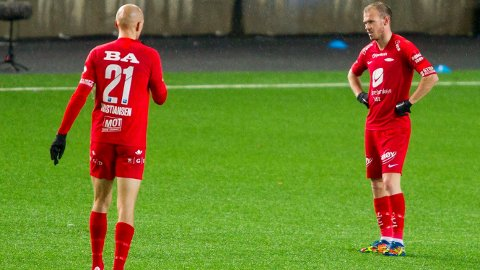 Ruben Kristiansen og Petter Strand depper etter tapet mot Viking.