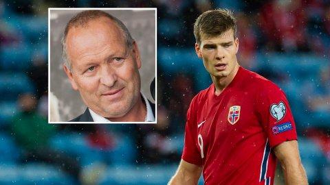 GLAD PÅ SØNNENS VEGNE: Gøran Sørloth gleder seg til å se sønnen Alexander Sørloth i aksjon for Norge i den kommende VM-kvalifiseringen.