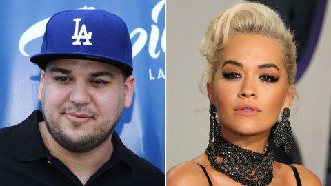 DATET: At Rob Kardashian og Rita Ora en gang datet, er det ikke mange som husker.