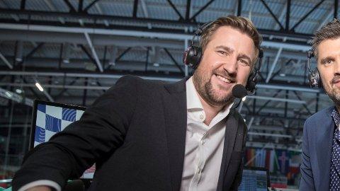 FIKK IKKE DRA: Daniel Høglund må kommentere EM fra studio i Oslo.