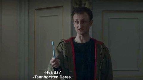 DRONNINGENS: Selv dronning Elizabeth bruker den norske tannbørsten.