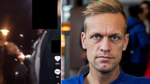 KONDUKTØR: En konduktør ble uthengt som rasist på Instagram-kontoen «rasisme_i_Norge». TV-profilen Mads Hansen reagerer kraftig.