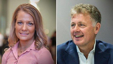 Senterpartiets Sandra Borch er på ingen som helst måte distriktspolitisk enig med Nettavisens Gunnar Stavrum.