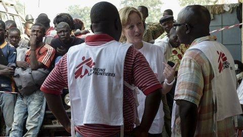 Leger Uten Grenser er på plass i Den sentralafrikanske republikk.