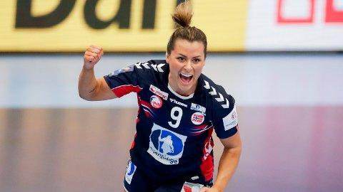 Kolding, Danmark 20201210. Norges Nora Mørk jubler under kampen i håndball EM 2020 mellom Nederland og Norge i Sydbank arena. Foto: Vidar Ruud / NTB