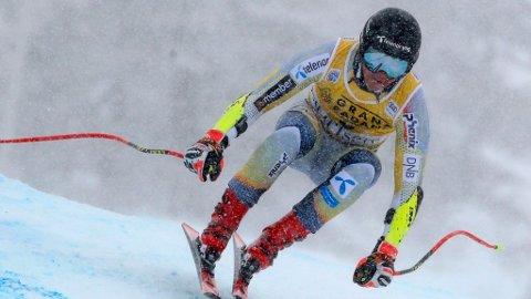 IMPONERTE: Adrian Smiseth Sejersted kom på en sterk pallplass i Val d'Isere.