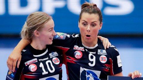 NY KAMP: Stine Bredal Oftedal, Nora Mørk og de andre norske kvinnene skal i aksjon mot Kroatia lørdag kveld.