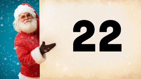 JULEKALENDER: Den 22. luken kan åpnes i dag. Klarer du å få alle riktig?