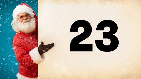 JULEKALENDER: Den 23. luken kan åpnes i dag. Klarer du å få alle riktig?