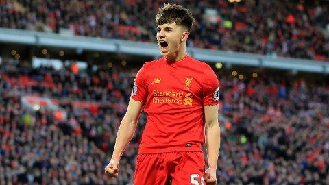 Ben Woodburn er utlånt til Blackpool fra Liverpool. Jurgen Klopp har ennå ikke gitt opp 21-åringen.