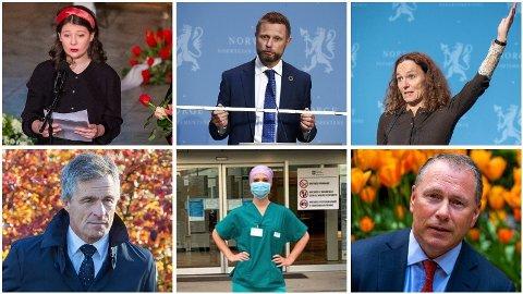 Disse er nominert som årets navn i Nettavisen 2020: Maud Angelica Behn, Bent Høie, Camilla Stoltenberg, Jan Haudemann-Andersen, Linn Myhrstad og norsk helsepersonell og Nicolai Tangen.