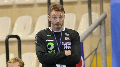 TATT SIN BESLUTNING: Landslagsjefen Christian Berge har bestemt hvem som er med i troppen til VM i januar.