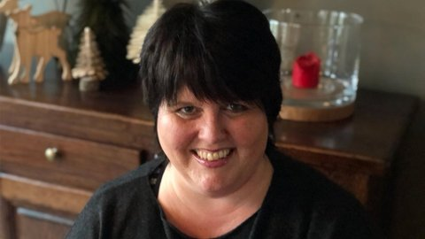 FLAX: Berit fra Randaberg hadde flaksen på sin side i adventstiden. Hun kan innkassere 1 million kroner i premie på stor Flax Julekalender.