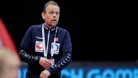 KLAR BESKJED: Heirgeirsson ga klar beskjed til de norske spillerne.