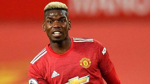 PÅ VEI BORT? Det er knyttet spenning til hvor lenge Manchester United-profil Paul Pogba blir værende i klubben.