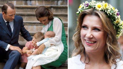 FØRST UT: Märtha Louise er kongeparets førstefødte, men ikke først i arverekken. Det er hun takknemlig for.