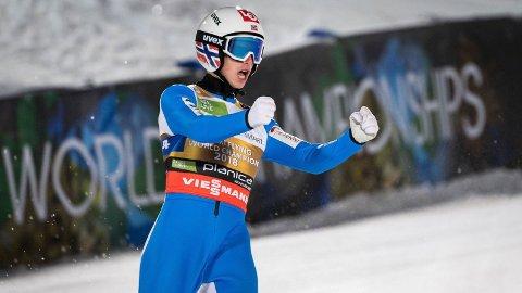 VANT: Halvor Egner Granerud tok nok en seier.