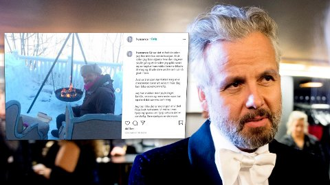 Kjæresten til avdøde Ari Behn, Ebba Rysst Heilmann, la ut denne meldingen på dagen ett år etter Behn tok sitt eget liv.