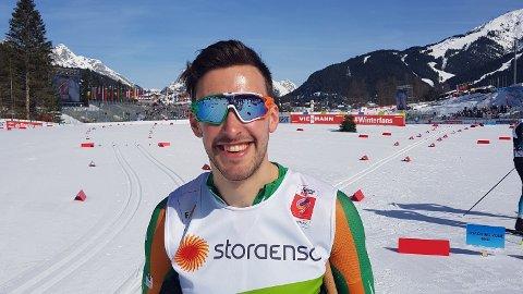 KLAR: Thomas Maloney Westgård representerer Irland i årets Tour de Ski.