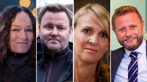 FORTJENER EN TAKK: Camilla Stoltenberg, Espen Nakstad, Line Vold og Bent Høie har utført en formidlingsbragd.