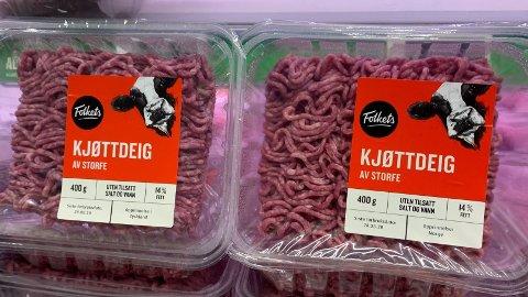 ULIK OPPRINNELSE: En del nordmenn er opptatte av hvor kjøttet de kjøper kommer fra. Arkivfoto.