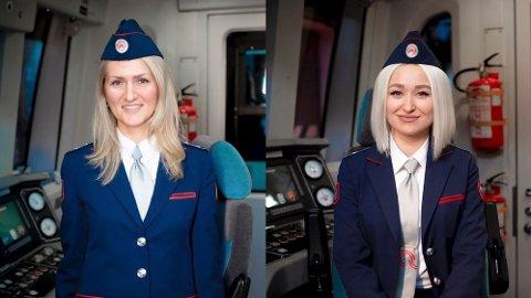 T-banen i Moskva har for første gang i nyere historie ansatt kvinnelige førere. Her fra en presentasjon 1. januar.