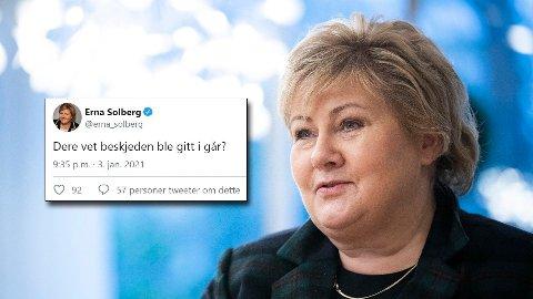 Denne trekke-på-skuldrene-aktige tilnærmingen til gruppene som nå over natta nok en gang må kaste om på alle sine planer, kler regjeringen dårlig, og er ikke en god politisk start på året for Erna Solberg, skriver politisk redaktør i Nidaros, Snorre Valen.